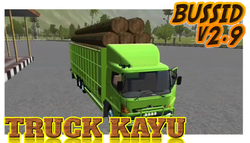 Livery Bussid Mod Truck Kayu 1.5 screenshots 4