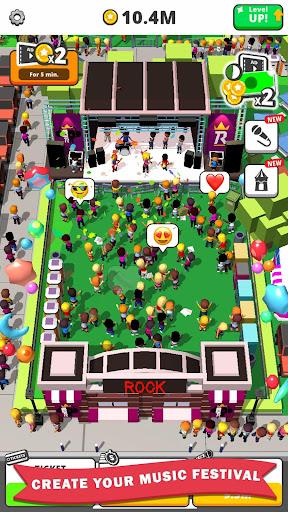 Télécharger Idle Concert apk mod screenshots 1