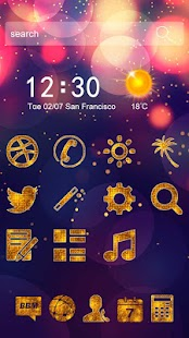 bright star theme personality wallpaper - náhled
