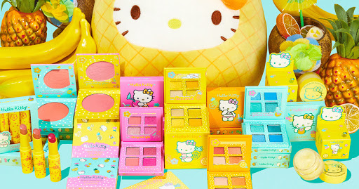 ColourPop is Celebrating Summer w/ a New Hello Kitty Tropical Escape Makeup Collection
