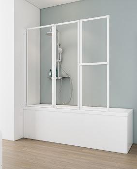 Pare baignoire, 160 cm, 3 éléments, D1410
