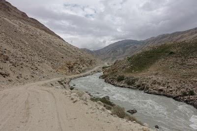 Der Pamir markiert die Grenze zu Afghanistan.