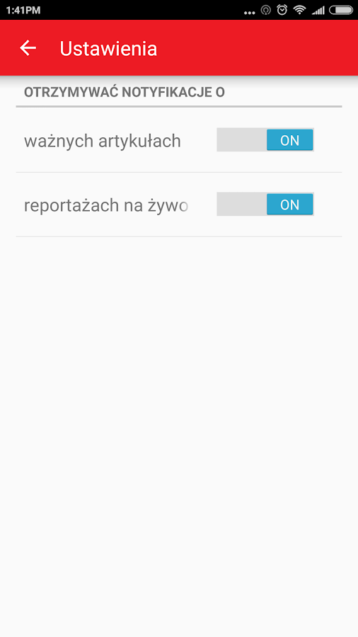 Zwrot- screenshot