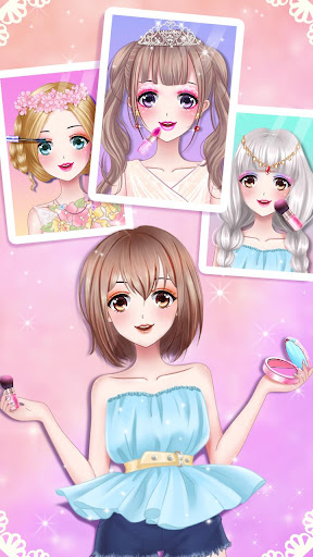 ud83dudc57ud83dudc84Anime Girl Dress Up  screenshots 1