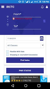 IRCTC Railway Schedule App Download For Android 1