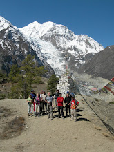 Photo: Point de vue 3800 m: Gangapurna