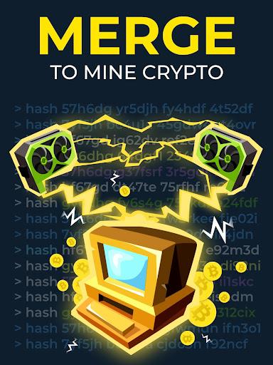 The Crypto Merge - bitcoin mining simulator 1.4 screenshots 7