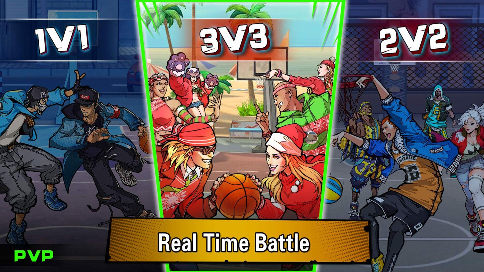 Dunk Nation 3X3- screenshot