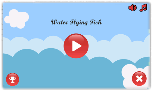Water Flying Fish