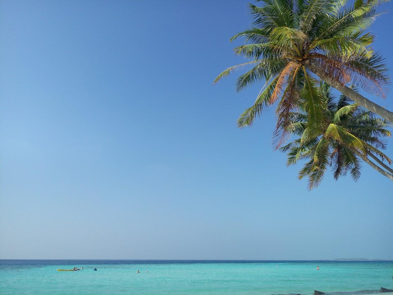 Маафуши - пляж баунти