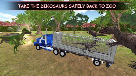 Dino Truck Transport : Angry Dinosaur  Capture - náhled