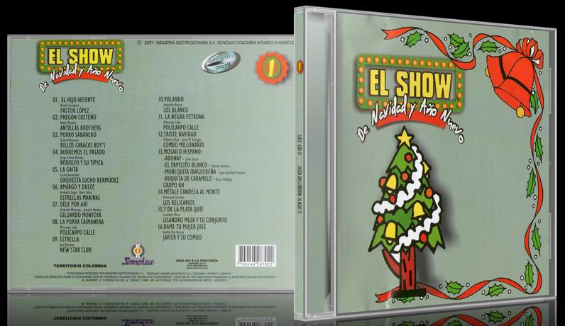 Various Artists - El Show De Navidad Y Año Nuevo 1 (2001) [MP3 @320 Kbps]