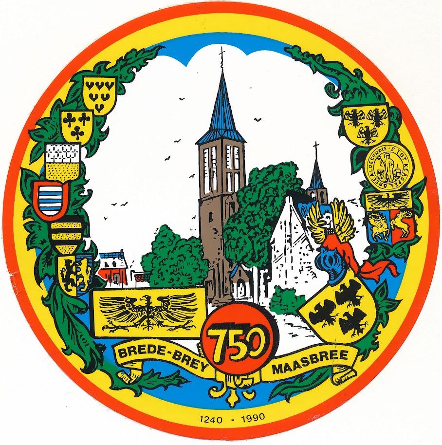 1990 750 jaar Maasbree - Zeskamp
