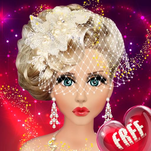 Wedding Makeup,Dress,Hairstyle (game)