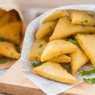 Panelle (Sicilian Chickpea Fritters).