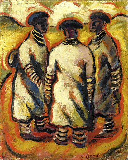 Gerard Sekoto: Ndebele Women. Picture: SUPPLIED