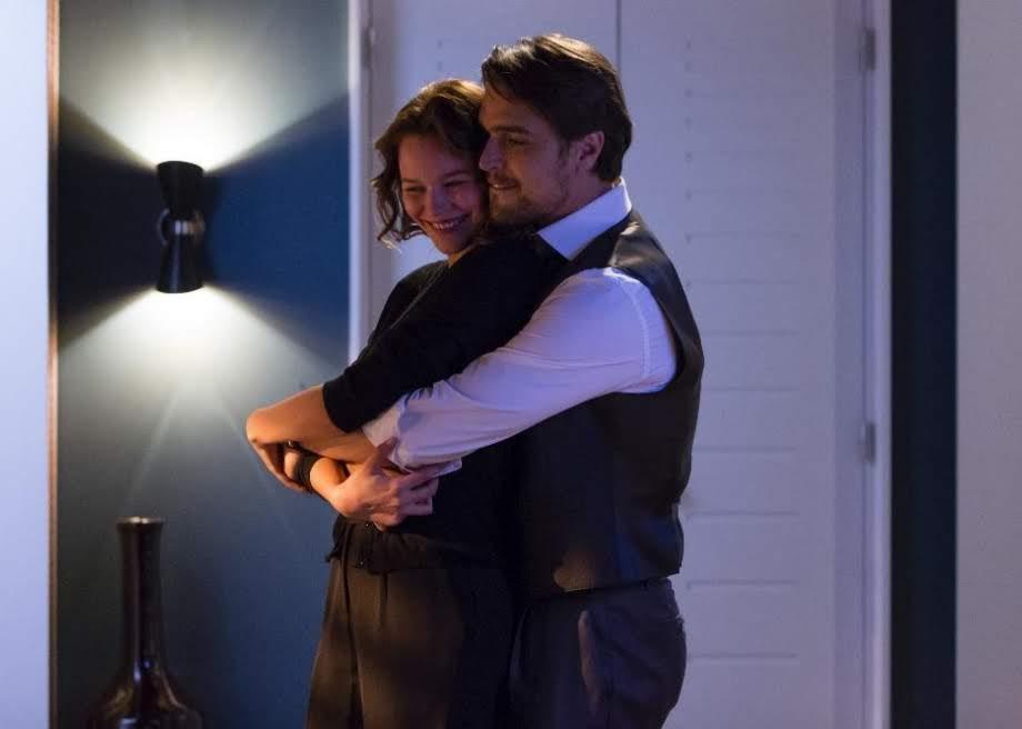 Bia Ferreira (Joana de Verona) e Jorge Monforte (Diogo Morgado), protagonistas de Ouro Verde