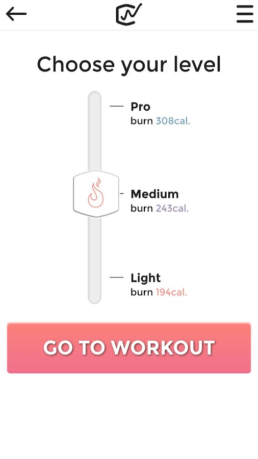 Workoutclub - HIIT workouts: screenshot