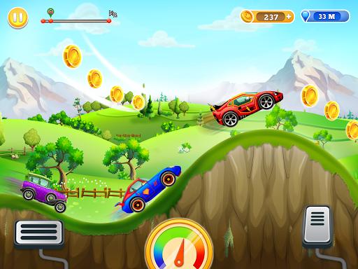 Kids Car Hill Racing: Games For Boys screenshots 1