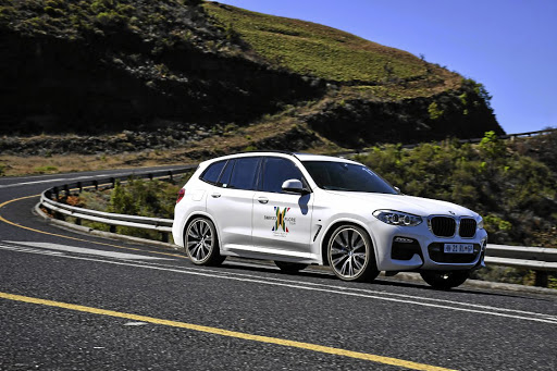 The locally built BMW X3 scything through Mpumalanga roads.