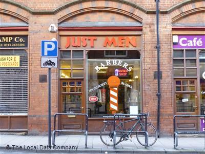 Just Men Barbers In City Centre Leeds