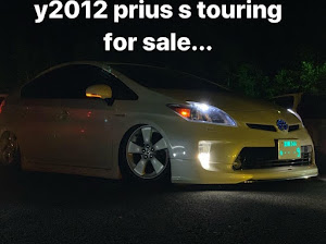 プリウス ZVW30 Sツーリングセレクション y2012のカスタム事例画像 まささんの2019年10月05日18:38の投稿