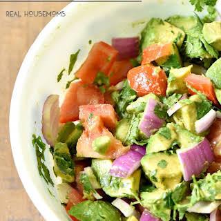 Chunky Guacamole Salad.