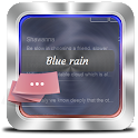 Blue rain GO SMS icon