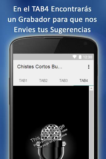 Chistes Cortos Buenos Gracioso 1.03 screenshots 6