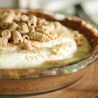 Eggnog Custard Pie.
