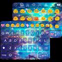 Star Galaxy Emoji Keybaord icon