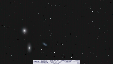 Photo: Day 24 brings you more recent work, from last Friday and thecoup de gracias for that session. I had an extra 30minutes on top of this 1hr, but it was 5minute subs and didn't take as well to stacking in #DeepSkyStacker for some reason. Either the darks or mismatch, or groups or user error?! Enjoy an early one today!