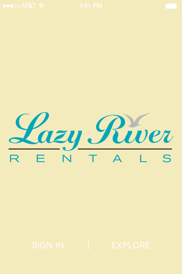 Lazy River Rental- screenshot