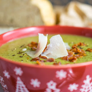 Instant Pot Broccoli & Bacon Soup