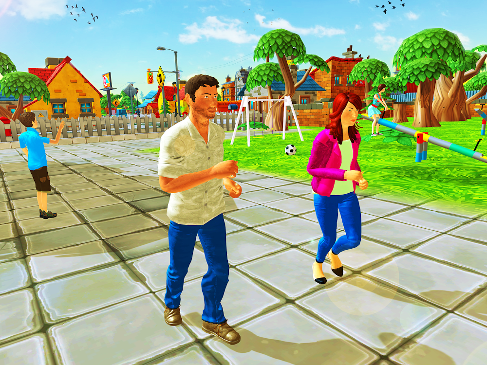 Virtual Dad & Mother - Family Life Simulator – (Android Apps