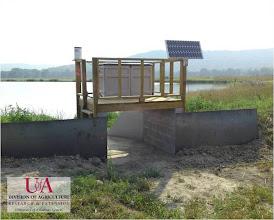 Photo: Pond monitoring station (2012)
