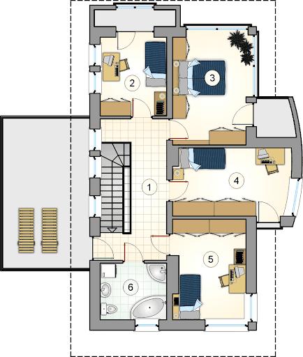 Aramis - Rzut piętra