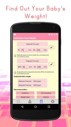 Pregnancy Calculators: Due Date & Gestational Age 2.4 screenshots 3