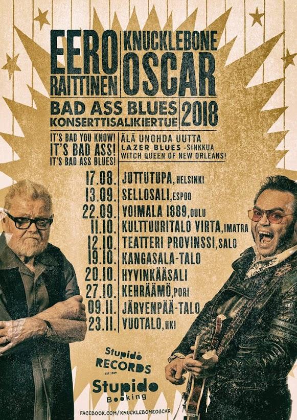 Eero Raittinen & Knucklebone Oscar kiertue