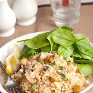 Vegetarian Brown Rice Risotto Recipe