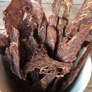 Sage Maple Beef Jerky.