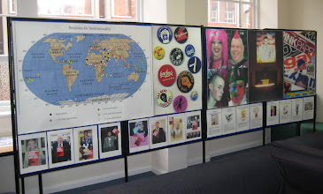 Photo: Notts Rainbow Heritage at the Leicester LGB Centre