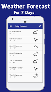 Daily Weather Forecast & Radar - náhled