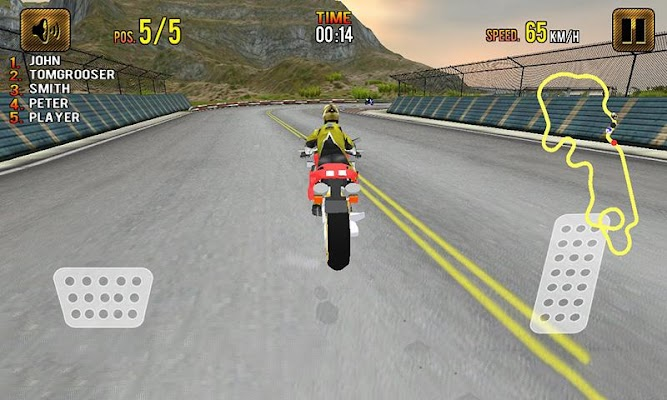 Speed hi Speed Bike Racing 3D - screenshot