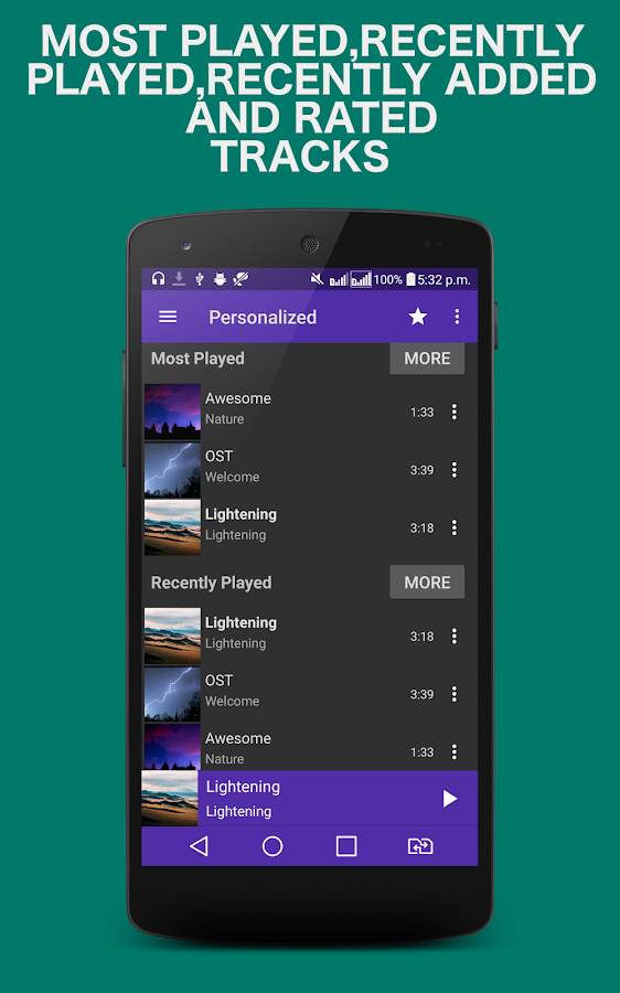 Mp3 Music Player- screenshot