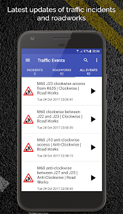 M60 Motorway Traffic News - náhled