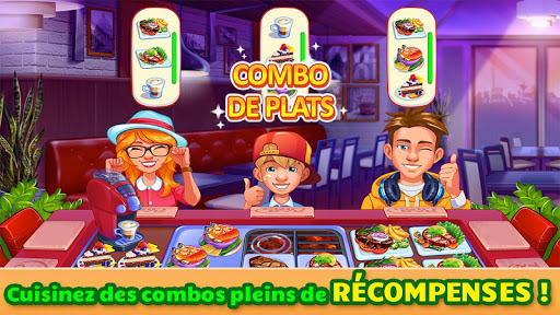 Cooking Craze: Jeu de cuisine et restaurant  captures d'u00e9cran 2