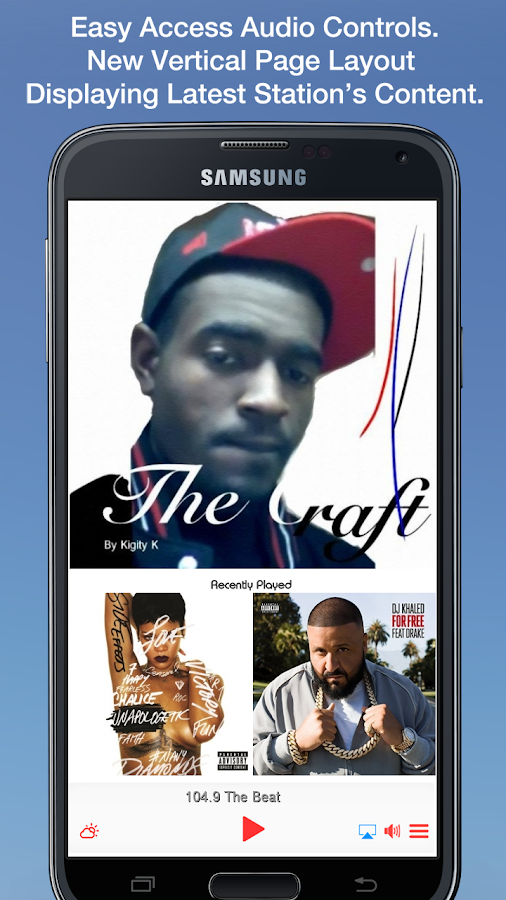 104.9 The Beat- screenshot