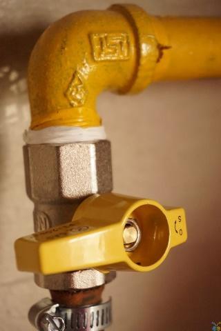 propane generator gas line installation