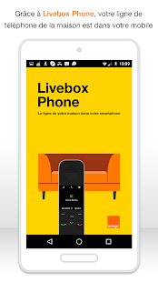 Livebox Phone – Vignette de la capture d'écran